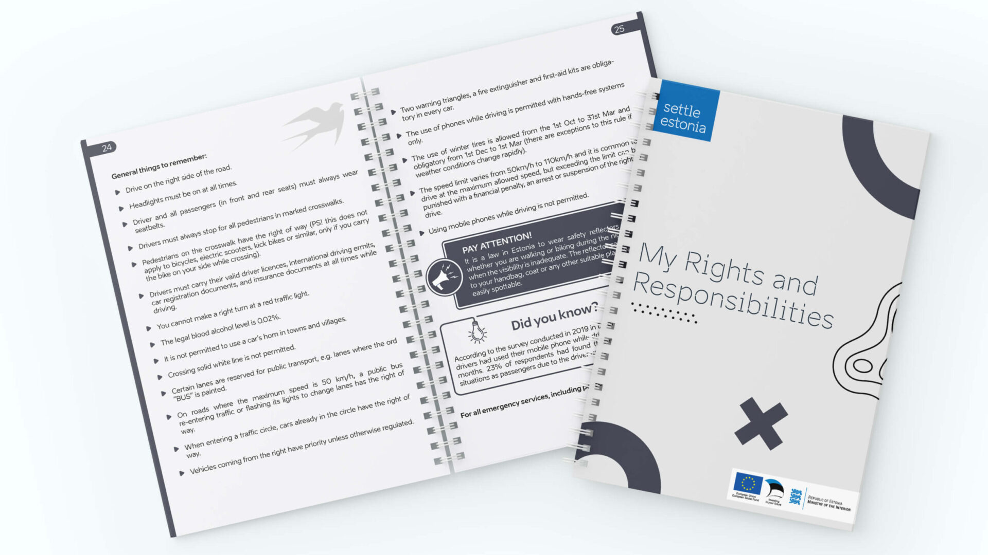 Settle in Estonia - My Rights and Responsibilities